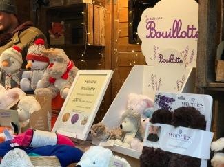 Les bouillottes au Marché de Noël d'Annecy