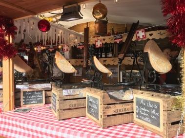 Les bons fromages à raclette...